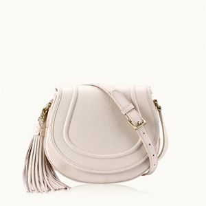 Gigi New York white 'Jenni' saddle bag